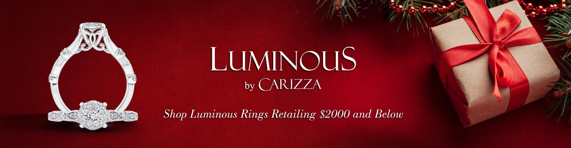 Shop Luminous Rings Retailing $2000 and Below