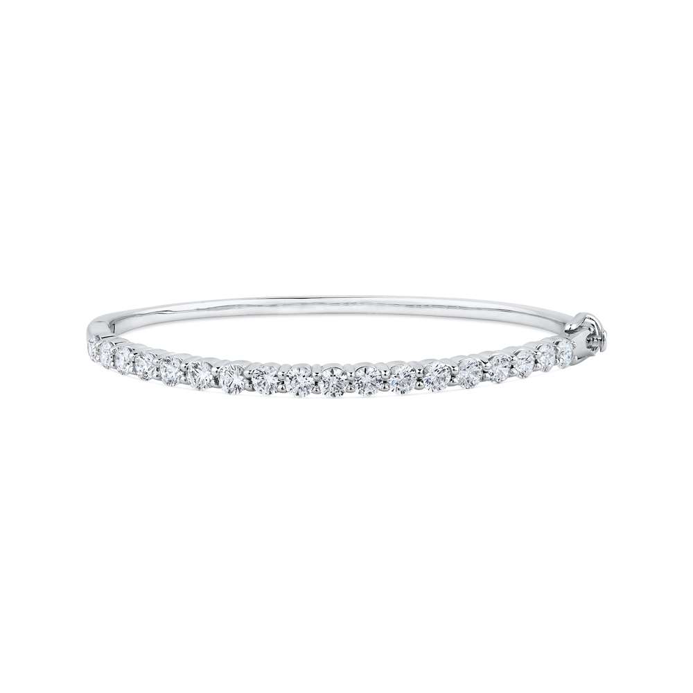 diamond bridge tapered ben bangles bangle jewelry jeweler bracelet