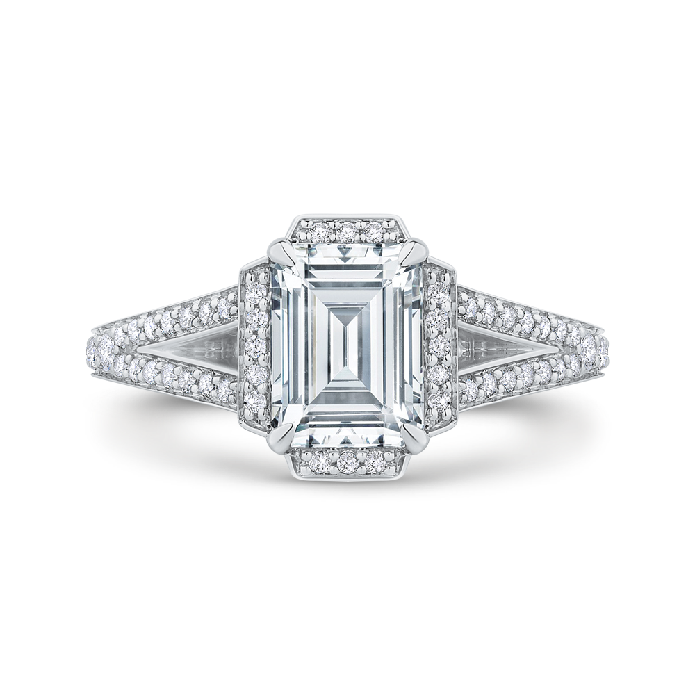 products rings engagement tapered platinum diamond cathedral ring solitaire