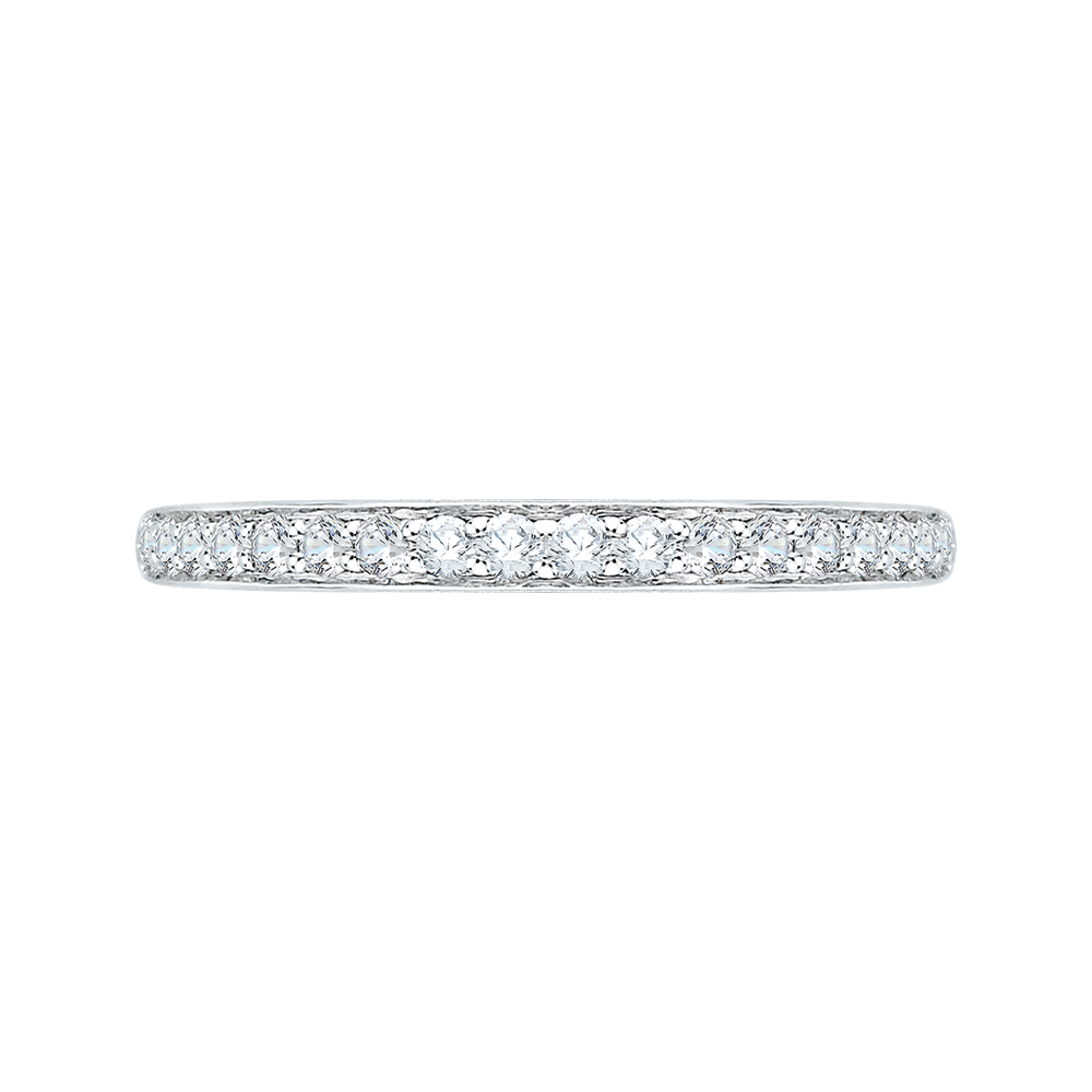 14K White Gold .25 ct. Diamond Promezza Wedding Band