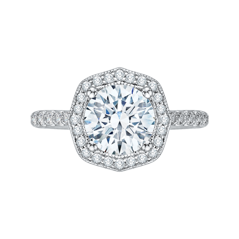 engagement side cut ring rings stones diamond princess perhanda fasa