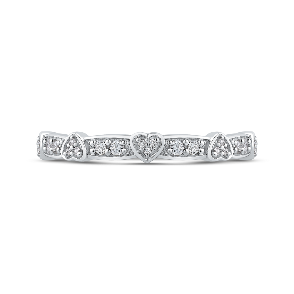 Sterling Silver 1/5 Ct Diamond Fashion Ring