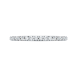14K White Gold 1/3 ct. Diamond Promezza  Wedding Band
