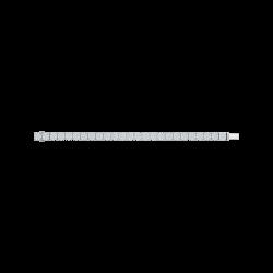 14K White Gold 13 5/8 Ct Diamond Lecirque Tennis Bracelet