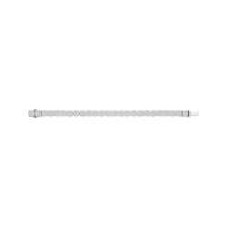 14K White Gold 12 1/5 Ct Diamond Lecirque Tennis Bracelet