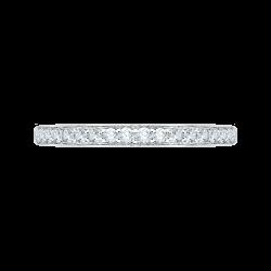 14K White Gold .25 ct. Diamond Promezza Wedding Band