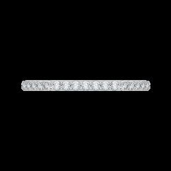 14K White Gold .28 ct. Diamond Promezza Wedding Band