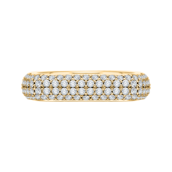 18K Yellow Gold Full Eternity Diamond Fashion Band