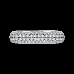 18K White Gold 1 7/8 Ct Diamond Carizza Boutique Fashion Ring