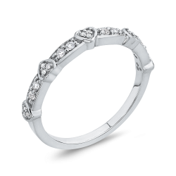 Sterling Silver 1/5 Ct Diamond Fashion Ring