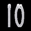 10K White Gold 1/3 ct. Diamond Fashion Earrings