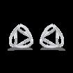 10K White Gold .07 ct White Diamond Fashion Stud Earrings