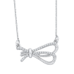 14K White Gold .14 ct Diamond Fashion Pendant