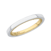 14K Two-Tone Gold Promezza Wedding Band