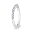 14K White Gold 1/3 Ct Diamond Promezza Wedding Band