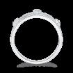10K White Gold 1/5 Ct Diamond Fashion Ring