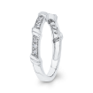 10K White Gold .14 Ct Diamond Fashion Ring