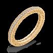 10K Yellow Gold 1/3 ct Round White Diamond Eternity Wedding Band Ring