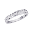Basic Channel Set Diamond Ring in 14K White Gold (1/4 cttw)