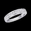 Basic Channel Set Diamond Ring in 14K White Gold (1 cttw)